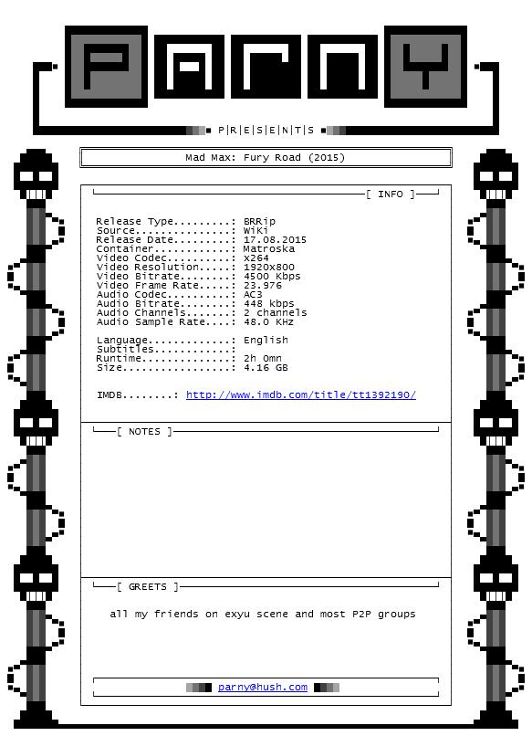 MadMaxFuryRoad20151080pBRRipx264AC3-Parn
