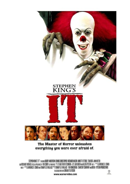 IT-1990-Movie-Poster-Stephen-King-Pennyw